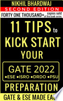 Year 2020 Advanced Gate Ese Preparation Book 2 11 Tips To Kick Start Your Preparation