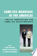 Same Sex Marriage in the Americas