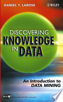 Discovering Knowledge In Data : ...