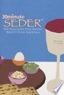 30 Minute Seder