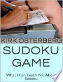 download ebook sudoku game: what i can teach you about sudoku pdf epub