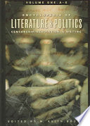 Encyclopedia of Literature and Politics: A-G
