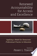 Renewed Accountability for Access and Excellence