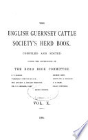 The English Guernsey Cattle Society s Herd Book