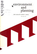 Environment   Planning A
