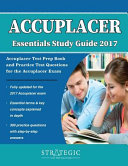 Accuplacer Essential Study Guide 2017