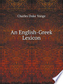 An English Greek Lexicon