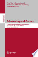 E Learning and Games