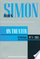 John Simon on Theater