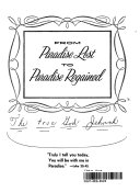 download ebook from paradise lost to paradise regained pdf epub