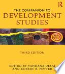 The Companion to Development Studies Book PDF