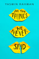 All the Things We Never Said Book PDF