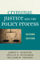 download ebook criminal justice and the policy process pdf epub
