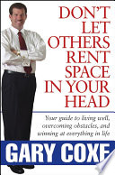 Don t Let Others Rent Space in Your Head