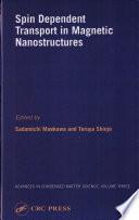 illustration du livre Spin Dependent Transport in Magnetic Nanostructures