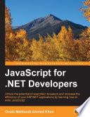 Javascript For Net Developers