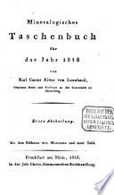 Taschenbuch f  r die gesammte Mineralogie mit Hinsicht auf die neuesten Entdeckungen