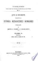 Acte si documente relative la istoria renascerei Romaniei  pt  1  Divanul ad hoc al Moldovei din 1857   1896
