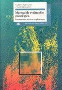 Manual de evaluación psicológica