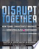 Opportunities in Branding   Benefits of Cross Functional Collaboration in Driving Identity  Chapter 16 from Disrupt Together