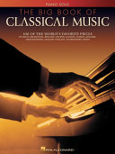The Big Book of Classical Music (Songbook) Book