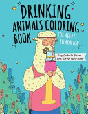 Drinking Animals Coloring Book