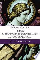 Women in the Church s Ministry Book PDF