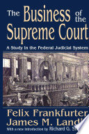 The Business of the Supreme Court