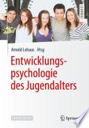 Entwicklungspsychologie des Jugendalters