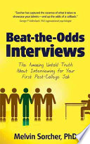 Beat-the-Odds Interviews : decisions, sorcher has captured the essence...