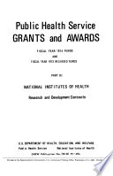 Public Health Service Grants and Awards
