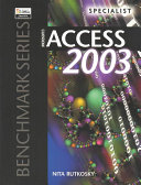 Microsoft Access 2003 Specialist Certification