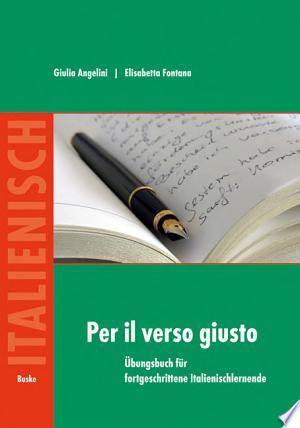 Per il verso giusto - ISBN:9783875485400
