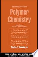 Book Seymour Carraher s Polymer Chemistry