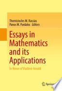 Essays In Mathematics And Its Applications book