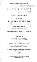 Bibliotheca Heberiana