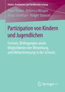 Partizipation von Kindern und Jugendlichen