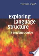 Exploring Language Structure