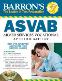 Barron s ASVAB with CD ROM  10th Edition