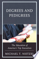 Degrees and Pedigrees