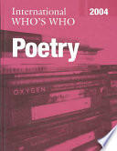 International Who S Who In Poetry 2004 book