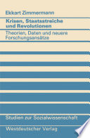 Krisen Staatsstreiche Und Revolutionen