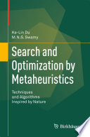 Search and Optimization by Metaheuristics