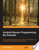 Android Sensor Programming By Example