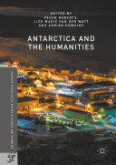 Antarctica and the Humanities Book