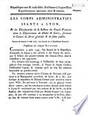 Séances du samedi 3 août 1793 (accueil des représentants de Lyon à Mâcon)