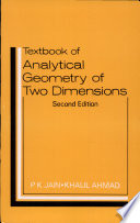 A Textbook Of Analytical Geometry Of Two Dimensions