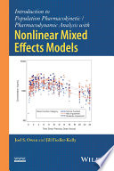 Introduction to Population Pharmacokinetic   Pharmacodynamic Analysis with Nonlinear Mixed Effects Models