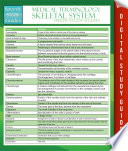 Medical Terminology Skeletal System Speedy Study Guides