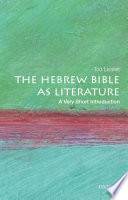 The Hebrew Bible As Literature